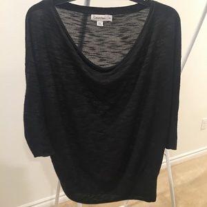 Calvin Klein Short Sleeve Sweater